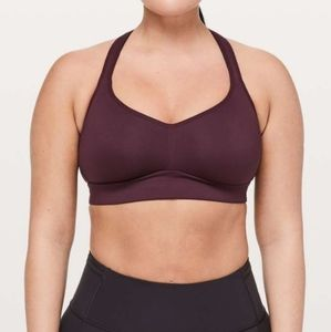 Lululemon Speed Up Bra C/D  Dark Adobe Purple
